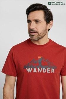 Mountain Warehouse Mens 100 Organic Cotton Lightweight T-Shirt