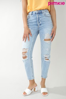 Pimkie Straight Ripped Jeans