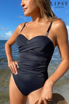 Lipsy Ruched Swimsuit