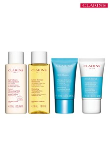 Clarins Hydrating Cleansing Travel Kit (worth £25)