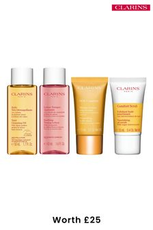 Clarins Comforting Cleansing Travel Kit (worth £25)