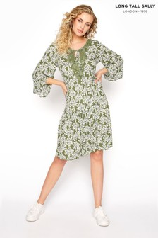 Long Tall Sally Crochet Tie Front Tunic