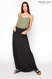 Long Tall Sally Maxi Fit and Flare Skirt