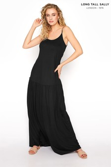 Long Tall Sally Strappy Drop Waist Dress