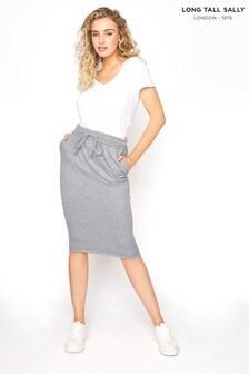 Long Tall Sally Jersey Sweat Skirt