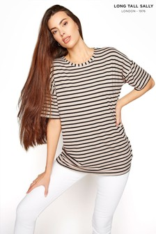 Long Tall Sally Stripe Oversized Tee