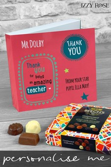 Personalised Amazing Teacher Card and Chocolates by Izzy Rose