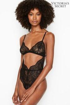 Victoria's Secret Unlined Cutout Lace Teddy