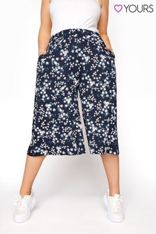 Yours Pastel Daisy Culotte