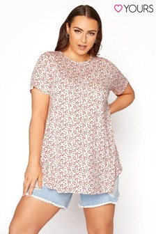 Yours Floral Swing Top