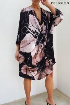 Religion Flux Tunic Jersey Dress