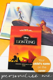 Personalised Disney Lion King Srandard Book by Signature Book Publishing