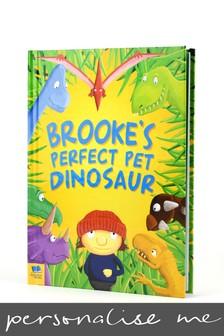 Personalised Pet Dinosaur Hardback Book by Signature Book Publishing