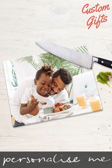 Personalised Photo Chopping Board by Custom Gifts