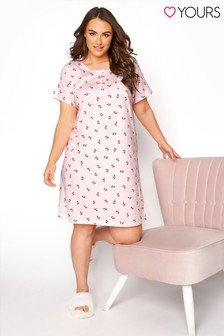 Yours Cherry Placket Nightdress