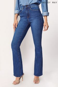 Noisy May High Waisted Flare Jeans