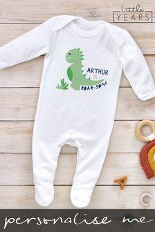 Personalised Sleepsuit by Little Years