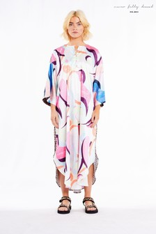 Never Fully Dressed Abstract Kaftan