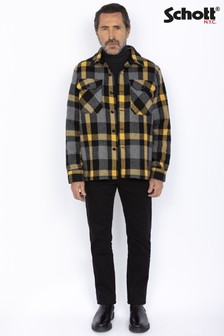 Schott Wool Mix Overshirt Jacket
