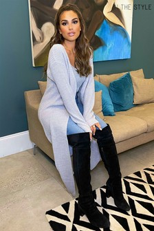 In The Style Longline Cardigan