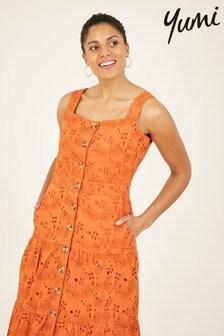 Yumi Cotton Estella Broderie Dress