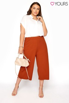 Yours Wide Leg Culotte