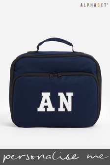 Personalised Lunch Bag by Alphabet