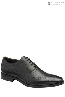Frank Wright Mens Leather Brogue Shoes