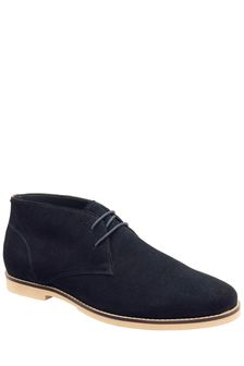 Frank Wright Mens Suede Ankle Boots
