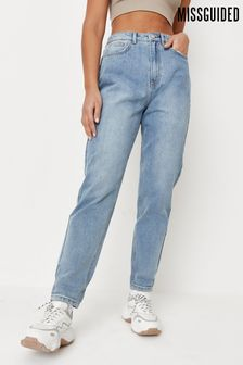 Missguided Riot Highwaisted Clean Mom Jean