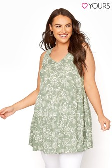 Yours Tiered Floral Tunic