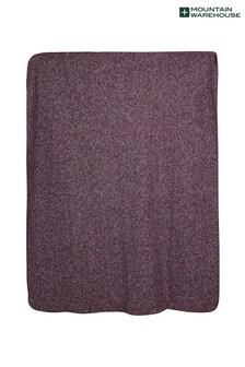 Mountain Warehouse Double Fleece Melange Blanket