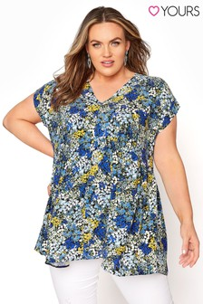 Yours Hi Lo Ditsy Floral Tunic