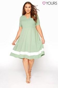 Yours Notch Neck Dress