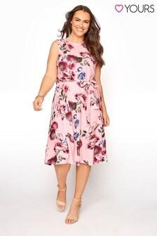 Yours Floral Skater Dress