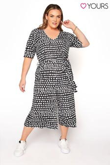 Yours Polkadot Jumpsuit
