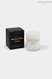 Katie Loxton Sentiment Candle   One In A Million   Black Raspberry And Vanilla Flower