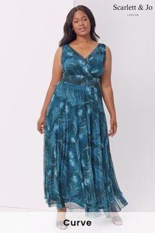 Scarlett & Jo Amelia Printed Maxi Dress