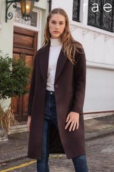Rae 1 Button Midi Coat