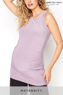 Long Tall Sally Maternity Scoop Neck Top