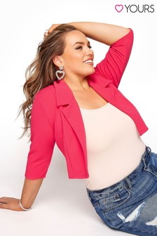 Yours Cropped Blazer