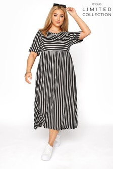 Yours Limited Mixed Stripe Dress