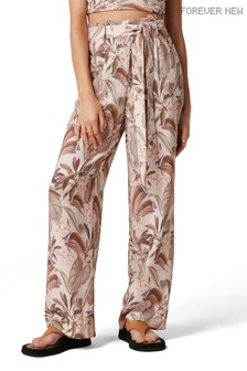 Forever New Paula Tie Waist Wide Leg Pants