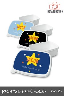 Personalised Back To School Star Lunchbox by Instajunction