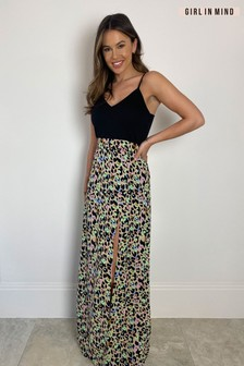 Girl In Mind Farah Cami Split Maxi Dress