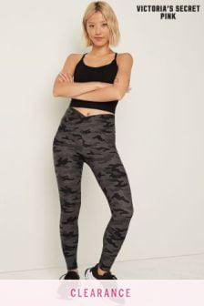 Victoria's Secret PINK Cotton High Waist Full Length V Crossover Legging