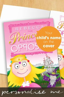 Personalised The Princess Opposite Book by Signature Gifts
