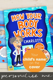 Personalised How Your Body Works Book by Signature Gifts