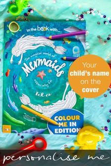 Personalised Mermaid Colouring Book by Signature Gifts