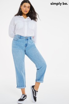 Simply Be Riley Slouch Boyfriend Jeans